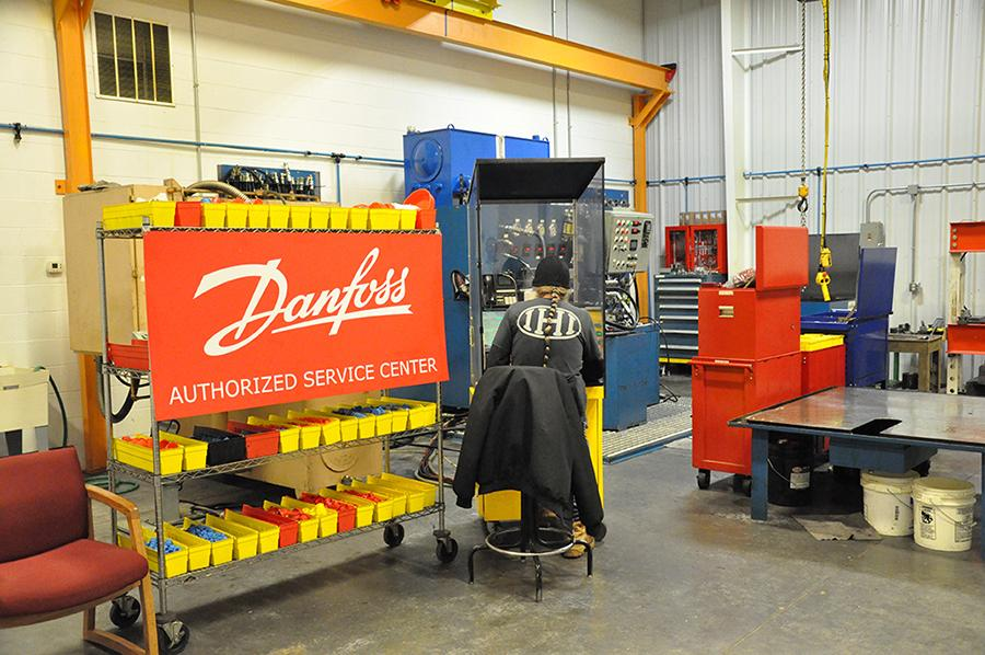 Danfoss authorized serviced center